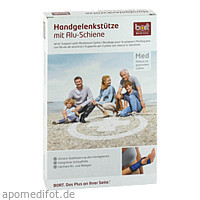 BORT Handgelenkstütze Aluschiene re schwarz la, 1 ST, Bort GmbH