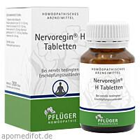 Nervoregin H, 200 ST, Homöopathisches Laboratorium Alexander Pflüger GmbH & Co. KG