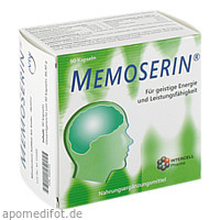 Memoserin, 90 ST, Intercell-Pharma GmbH