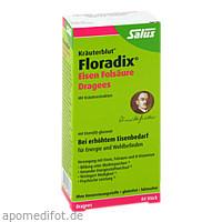 Floradix Eisen Folsäure Dragees, 84 ST, Salus Pharma GmbH