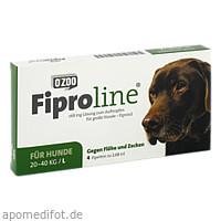 FIPROLINE 268 mg Lsg.z.Auftropf.f.große Hunde, 4 ST, O'ZOO GmbH