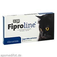 FIPROLINE 50 mg Lsg.z.Auftropf.f.Katzen, 4 ST, O'ZOO GmbH