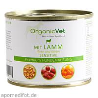 Dosennahrung Hund Sensitive Lamm, 200 G, Organicvet GmbH