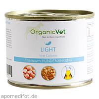Dosennahrung Hund Light, 200 G, Organicvet GmbH