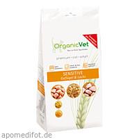 Trockennahrung Katze Sensitive Geflügel und Lachs, 500 G, Organicvet GmbH