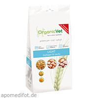 Trockennahrung Katze Light Geflügel und Lachs, 500 G, Organicvet GmbH