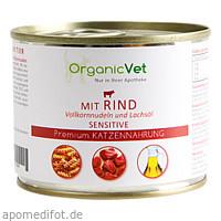 Dosennahrung Katze Sensitive Rind, 200 G, Organicvet GmbH