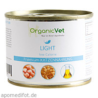 Dosennahrung Katze Light, 200 G, Organicvet GmbH