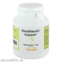 Knoblauch Kapseln, 120 ST, Allpharm Vertriebs GmbH