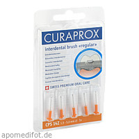 CURAPROX CPS14 Z Interdental 1.5-5mm Durchmesser, 5 ST, Curaden Germany GmbH