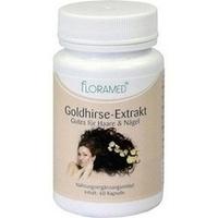 Goldhirse-Extrakt Gutes f.Haut-Haar-Nägel Floramed, 60 ST, Floramed GmbH