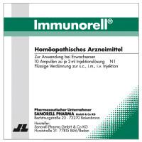 Immunorell, 10X2 ML, Sanorell Pharma GmbH & Co. KG