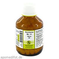 BIOCHEMIE 11 SILICEA D 6, 400 ST, Nestmann Pharma GmbH