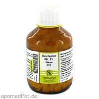 BIOCHEMIE 11 SILICEA D12, 400 ST, Nestmann Pharma GmbH