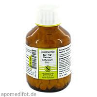 BIOCHEMIE 12 CALC SULF D12, 400 ST, Nestmann Pharma GmbH
