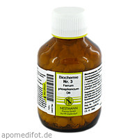 BIOCHEMIE 3 FERR PHOS D 6, 400 ST, Nestmann Pharma GmbH