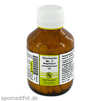 BIOCHEMIE 7 MAGN PHOS D 6, 400 ST, Nestmann Pharma GmbH