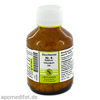 BIOCHEMIE 8 NATR CHLOR D 6, 400 ST, Nestmann Pharma GmbH