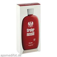 Tiroler Nussöl original Nussoel Wasserfest, 150 ML, Dermapharm AG