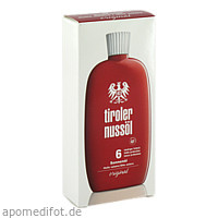 Tiroler Nussöl original Sonnenöl Wasserfest LSF 6, 150 ML, Dermapharm AG
