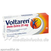 VOLTAREN Dolo Extra 25 mg überzogene Tabletten, 20 ST, Novartis Pharma GmbH
