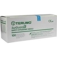 SurGuard2 20G 38mm gelb Sicherheitseinmalkanülen, 100 ST, Terumo Deutschland GmbH