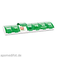 ANABOX 1x7 GRÜN, 1 ST, Wepa Apothekenbedarf GmbH & Co. KG