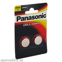 Panasonic Lithium Knopfzelle CR2032, 2 ST, Batterien-Spezialgroßhandlung G. Lenz Inh.: Michael Manthe E.K.