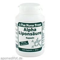 Alpha Liponsäure 300mg, 120 Stück, Hirundo Products