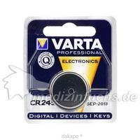 Varta Lithium Knopfzelle CR2450, 1 ST, Batterien-Spezialgroßhandlung G. Lenz Inh.: Michael Manthe E.K.