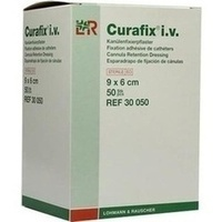 Curafix i.v. steril 9x6cm, 50 ST, Lohmann & Rauscher GmbH & Co. KG