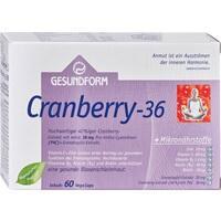 Gesundform Cranberry 36, 60 ST, Provita Apoth.Market.U.Handels GmbH