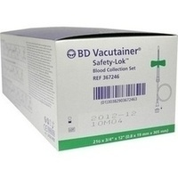 BD Vacutainer Safety-Lok Sicherh.Punkt.Best. grün, 50 ST, Becton Dickinson GmbH