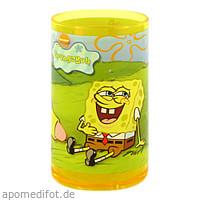 Sponge Bob Zahnputzbecher Melamin sortiert, 1 ST, Megadent Deflogrip Gerhard Reeg GmbH