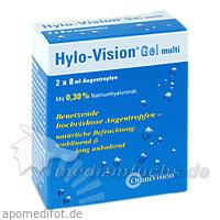 HYLO-VISION Gel multi Augentropfen, 2X8 ML, Omnivision GmbH