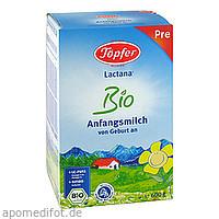Töpfer Lactana Bio Pre, 600 G, TÖPFER GmbH
