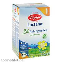 Töpfer Lactana Bio 1, 600 G, TÖPFER GmbH