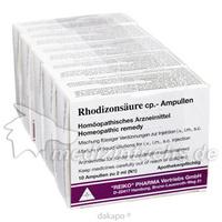 Rhodizonsäure cp. Ampullen, 5X10 ST, Adjupharm GmbH