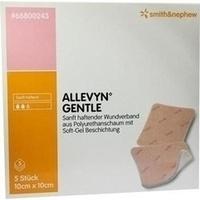 Allevyn Gentle 10cmx10cm, 5 ST, Smith & Nephew GmbH