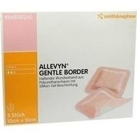Allevyn Gentle Border 10cmx10cm, 5 ST, Smith & Nephew GmbH