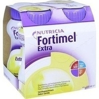 Fortimel Extra Vanillegeschmack, 4X200 ML, Nutricia Milupa GmbH