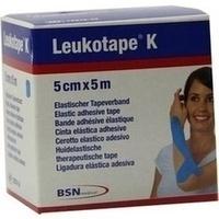 Leukotape K 5cm hellblau, 1 ST, Bsn Medical GmbH