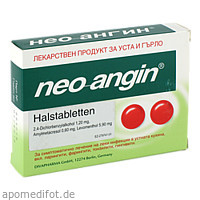 Neo Angin Halstabletten, 24 ST, Eurimpharm Arzneimittel GmbH