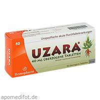UZARA 40mg überzogene Tabletten, 50 ST, STADA Consumer Health Deutschland GmbH