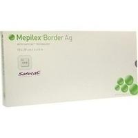 Mepilex Border Ag 10x20 cm, 5 ST, Mölnlycke Health Care GmbH