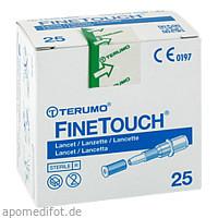 FINETOUCH Lanzetten, 25 ST, 1001 Artikel Medical GmbH