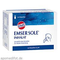 Emser Sole Inhalat, 20 ST, Sidroga Gesellschaft Für Gesundheitsprodukte mbH