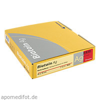Biatain Ag Schaumverband nicht-haftend 10x10cm, 5 ST, Coloplast GmbH