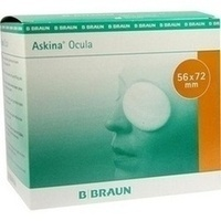 ASKINA OCULA AUGENKOMPRESSEN 56X72MM STERIL, 25 ST, B. Braun Melsungen AG