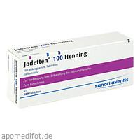 JODETTEN 100 HENNING, 100 ST, Sanofi-Aventis Deutschland GmbH